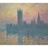 The Houses of Parliament, Sunset, 1903 by Claude Monet, 20 x 18 inches