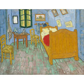 The Bedroom by Vincent Van Gogh, 30 x 24 inches