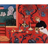 Red Room by Henri Matisse, 22 x 18 inches