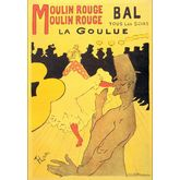 Affiches Goulue by Lautrec, 17 x 24 inches