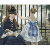 The Railway by Edouard Manet, 22 x 18 inches