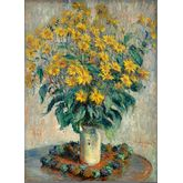 Jerusalem Artichoke Flowers by Claude Monet, 18 x 24 inches