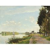 Agenteuil by Monet, size, 23 x 18 inches
