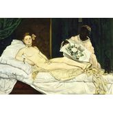 Olympia by Edouard Manet, 24 x 16 inches