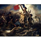 Liberty Leading The People by Eugene Delacroix, 23 x 18 inches