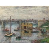 Bridge at Argenteuil by Claude Monet, 32 x 24 inches
