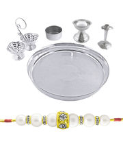 Special Puja Thali Along With A Free Rakhi