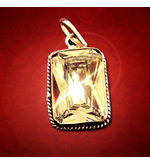 astroYogi Square Shaped Zircon Pendant