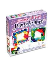 Ekta Create & Paint Photo Frame, Multicolor