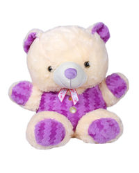 Joy Playable Soft Teddy, purple