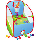 Saffire Pop Up Basketball Tent, multicolor