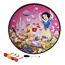 Disney Princess Funny Multi-Function Magnetic Dartboard (Including 3 Darts),  pink