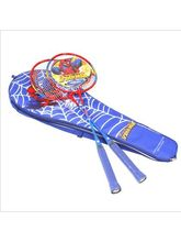 Spiderman Badminton Racket Set (Pair), Multicolor