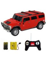 Shopcros R/C Rechargeable 1: 24 Hummer H2 Suv, Red...