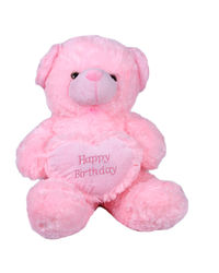 Joy Heart Teddy, pink