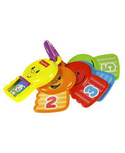 Fisher Price Count And Explore Keys - TWTW19383, Multicolor