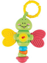 Winfun Light Up Twisty Rattle-Dragonfly, Multicolo...