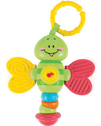 Winfun Light Up Twisty Rattle-Dragonfly, multicolor