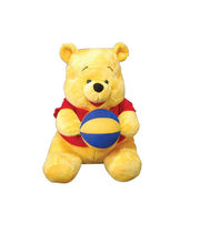 Disney Plush Toys - Pooh With Ball 10 Inch...