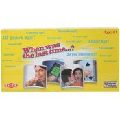TACTIC When was the Last Time Board Game, multicolor