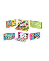 Trendbend Combo Of Little Nursery Game And Mind Maze Game Set, multicolor