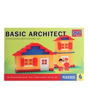 Peacock Smart Blocks - Basic Architect, Multicolor