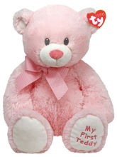 "TY Sweet Baby Pink - 15"" Pink Bear, Pink"