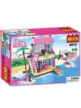 Saffire Dream Girls Beach Villa Building Set - 423...