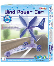 Wind Power Car (Multicolor)
