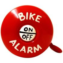 Stop To Shop Bike Bell Bike Alarm,  red