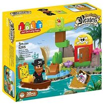 Saffire Powerful Pirates Blocks Set, multicolor