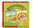 ART FACTORY Farm Family, multicolor