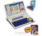 Children Educational Laptop + Free Auto Disc Gun (Multicolor)