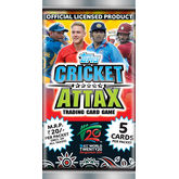 Topps ICC T20 Cricket Attax Flow Pack - Set of 5
