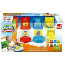 Saffire Bop And Pop Up Animals, multicolor