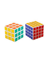 Shopcros Magic Cube Combo (3* 3 & 4* 4), multicolor