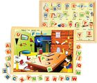 Skillo Magnetic Twin Play Tray - Alphabet Attic (Multicolor)