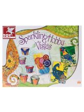 Toy Kraft Sparkling Hobby Vistas, Multicolor