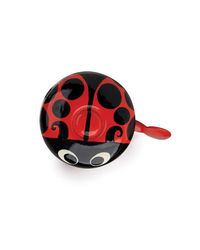 Stop To Shop Bike Bell Ladybug,  red