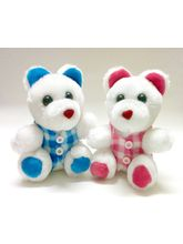 Deals India Couple Teddy 6.7 Inch, white