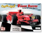 United Toys Create & Paint Vroom Racers - 1602806, multicolor