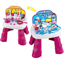 Saffire 2 in 1 Doctor and Kitchen Set, multicolor