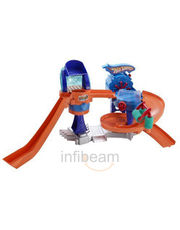 Hot Wheels Color Shifters Bubble-Matic Cash Wash Playset