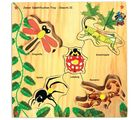 Skillo Junior Identification Tray (With Knobs) Insects Ii (Multicolor)
