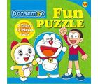 Doraemon Fun Puzzle (Multicolor)