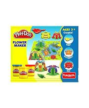 Funskool Play-Doh Flower Maker - TWTW546, Multicolor