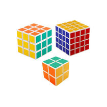 Shopcros Magic Cube Combo (2* 2, 3* 3 & 4* 4), multicolor