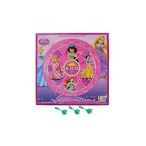 Itoys Disney Princess 2 In 1 My First Play Board-Wooden Magnetic Dart & Write White Board, purple