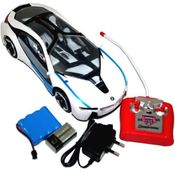 Shopcros Bmw I8 R/C 1: 16 Fast Racing Rechargeable Car,  white
