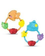 Fisher Price Ocean Wonders Rattle With Teethers - TWTW217, Multicolor